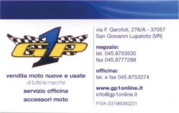 GP1 specializzato nella vendita di moto nuove e usate